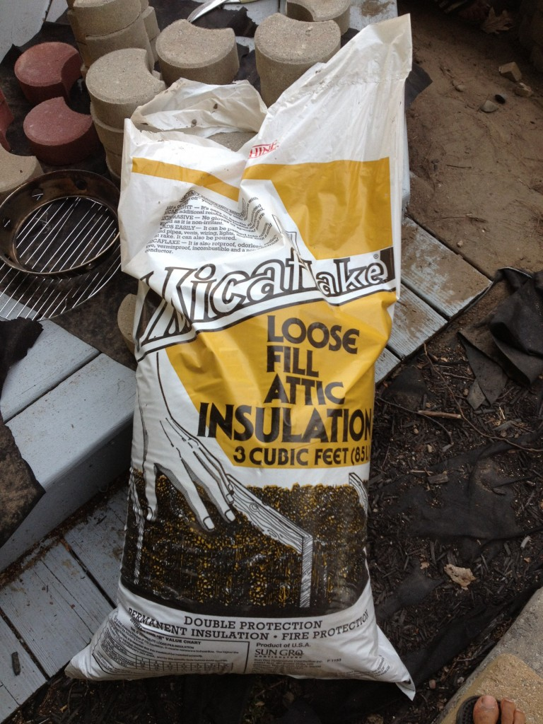 Vermiculite Insulation for your Backyard Tandoor