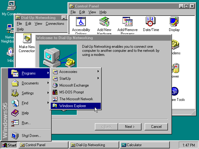 Windows 95 designer help windows update questions