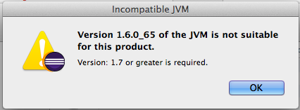 Error: Eclipse requires Java 7